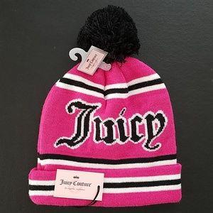 NWT Juicy Couture Pom Pom Winter Beanie